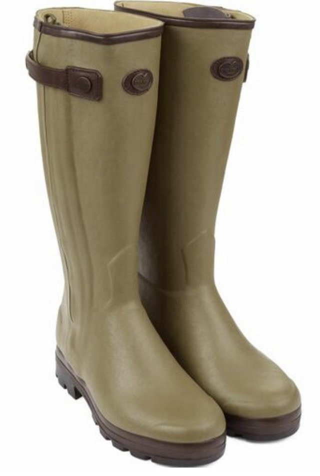 Preview of the first image of Le Chameau Ladies Wellington Boot Full Zip.