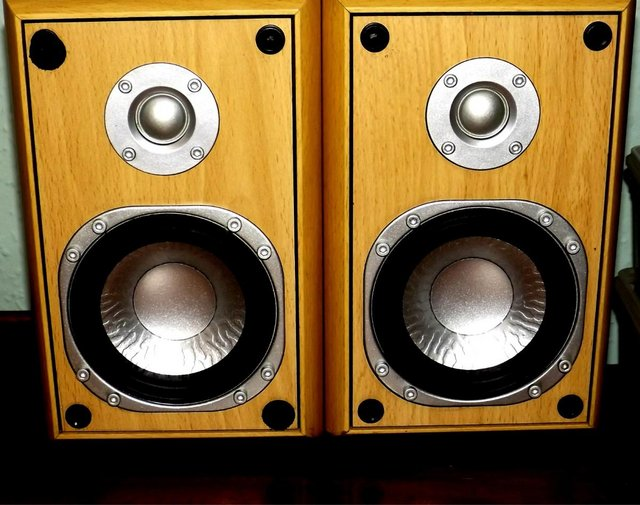 Preview of the first image of Rox Tordenstrøm High Fidelity Bookshelf Speakers.