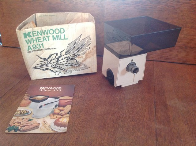 Preview of the first image of Kenwood Chef Wheat Mill Attachment.