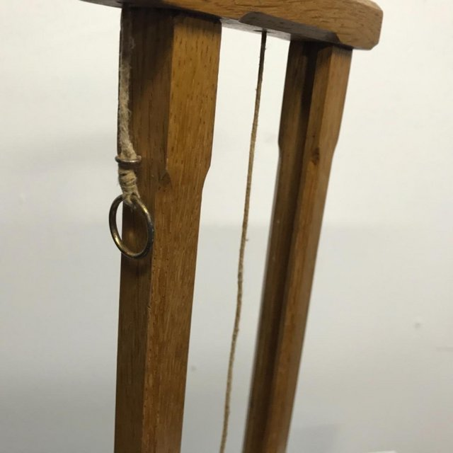 Image 13 of French Guillotine desks top cigar cutter in oak