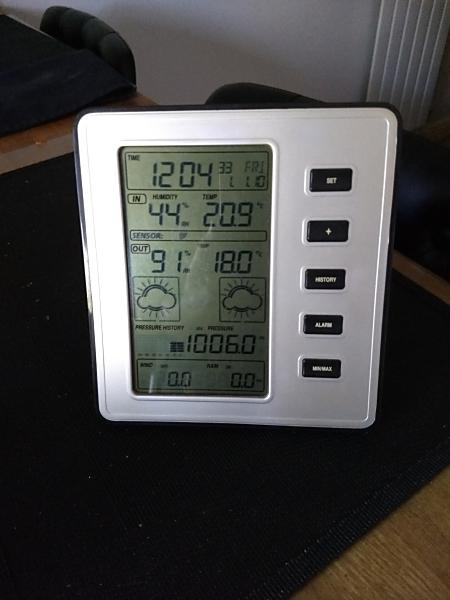 Preview of the first image of WCP150 Wireless Weather Station,Wind,Rain,Forecast, Used.