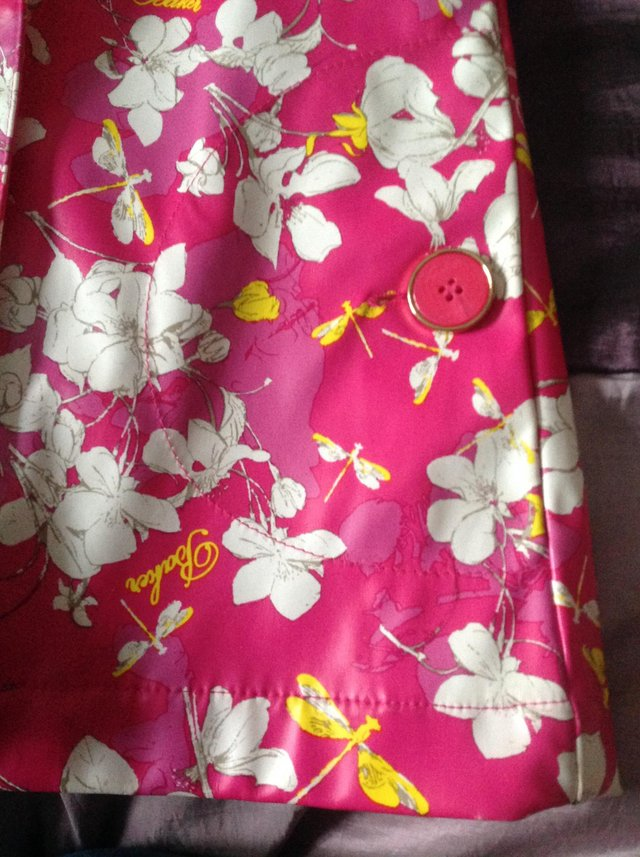 Image 4 of Ted Baker girl's floral rain mac Age 3-4 years