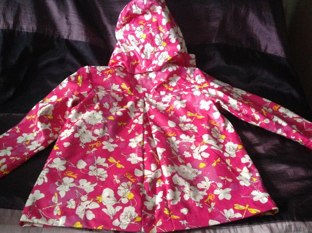 Image 5 of Ted Baker girl's floral rain mac Age 3-4 years