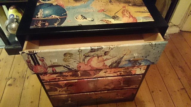 Image 2 of Original 1970s Bosch inspired chest of draws