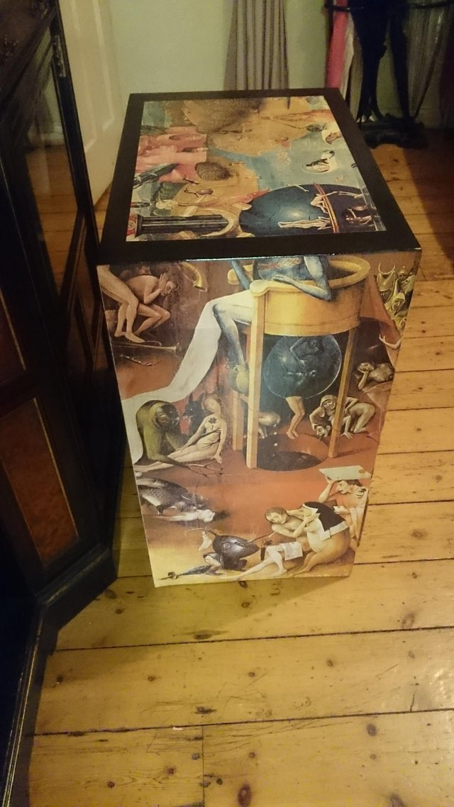 Image 3 of Original 1970s Bosch inspired chest of draws