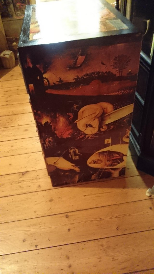 Image 6 of Original 1970s Bosch inspired chest of draws
