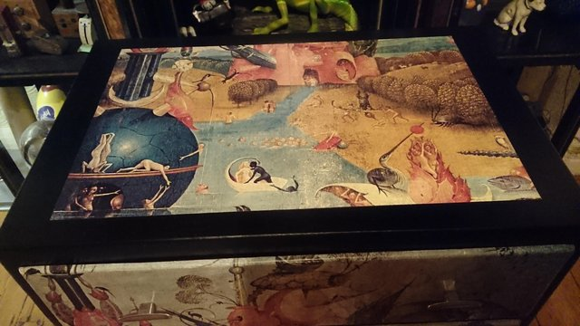 Image 10 of Original 1970s Bosch inspired chest of draws
