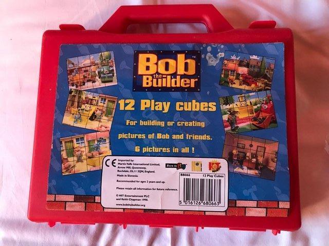 Image 2 of Vintage BOB the BUILDER Cube puzzle.