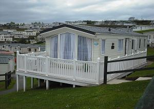 Preview of the first image of Private 3 bed Caravan to let at Haven Devon Cliffs.