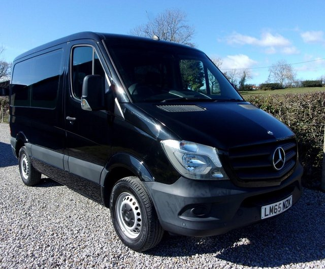 Preview of the first image of MERCEDES SPRINTER SWB AUTO DRIVER TRANSFER WHEELCHAIR LIFT.
