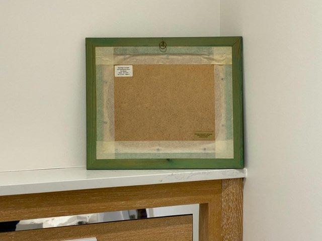 Image 3 of PAINTING HANDPAINTED WAX USING IRON ENCAUSTIC ARTWORK MARINE