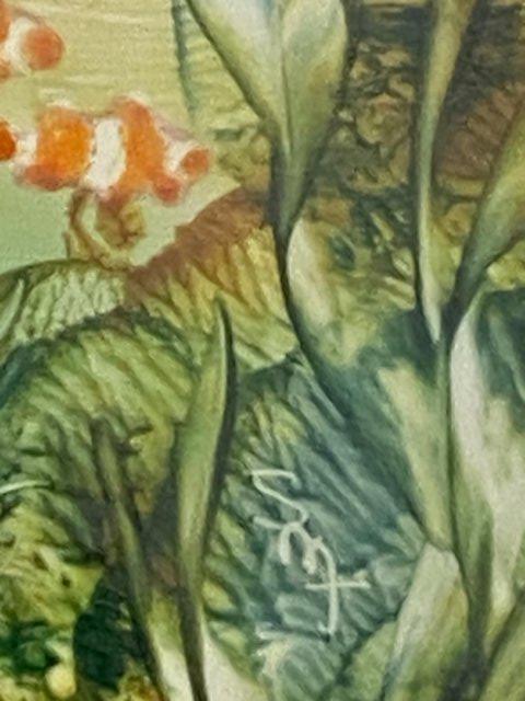 Image 9 of PAINTING HANDPAINTED WAX USING IRON ENCAUSTIC ARTWORK MARINE