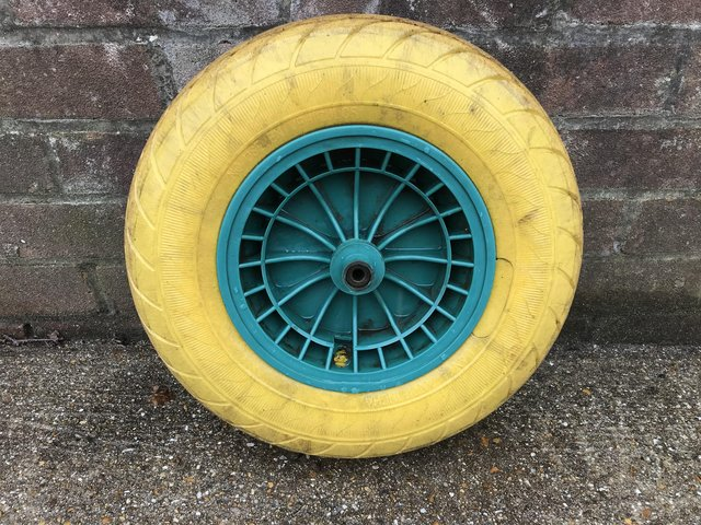 Preview of the first image of Wheelbarrow wheel.