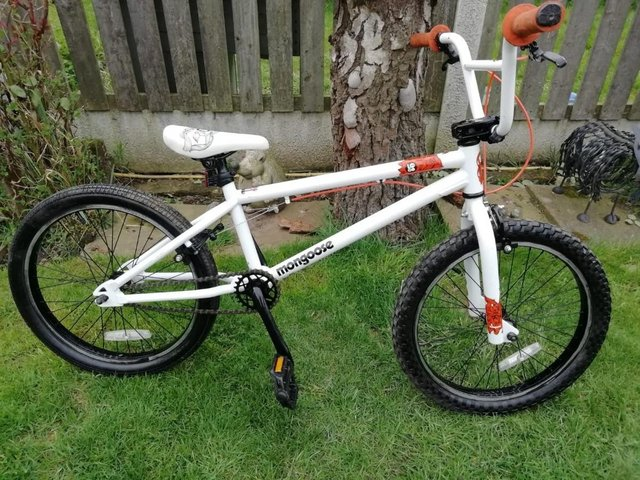 """Preview of the first image of Mongoose Logo BMX 20"""" wheelsREDUCED  £80."""