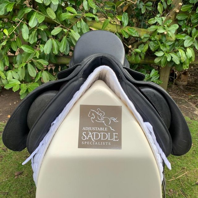 Image 11 of Wintec Isabell Werth 17.5 inch dressage saddle