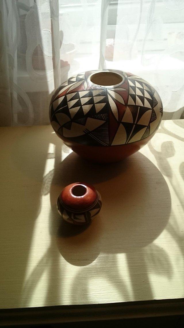 Image 5 of Original vintage signed first nation pottery