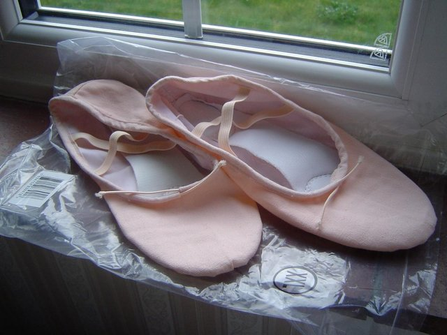 Preview of the first image of Ballet Shoes Light Pink Size 41.