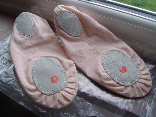 Image 2 of Ballet Shoes Light Pink Size 41