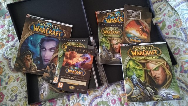 Preview of the first image of 2x world of warcraft battle chess boxed books.