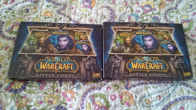 Image 2 of 2x world of warcraft battle chess boxed books