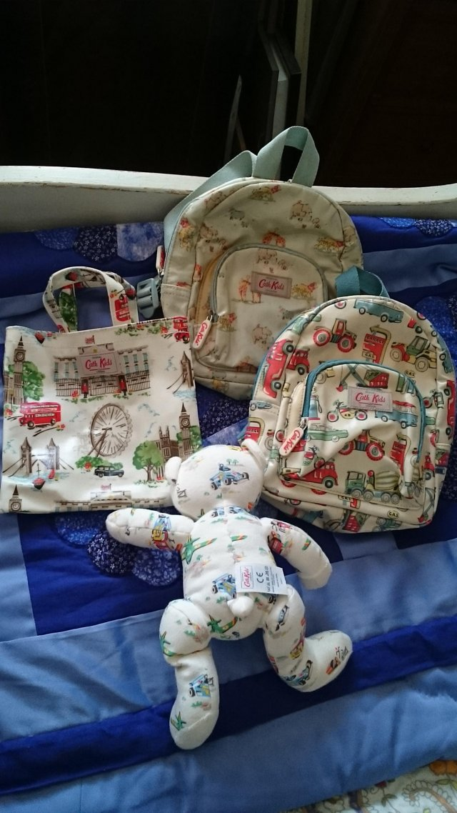 Image 2 of Cath kidston childrens bags and teddy