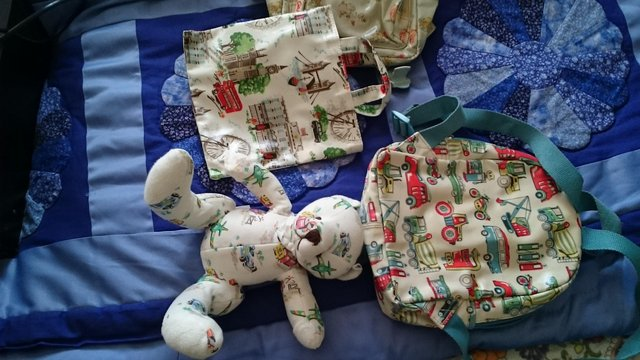 Image 3 of Cath kidston childrens bags and teddy