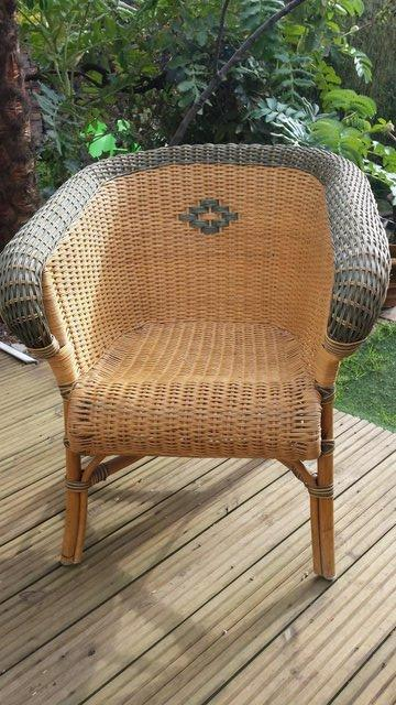 Image 2 of Vintage Style RATTAN CANE, conservatory, lounge or patio cha