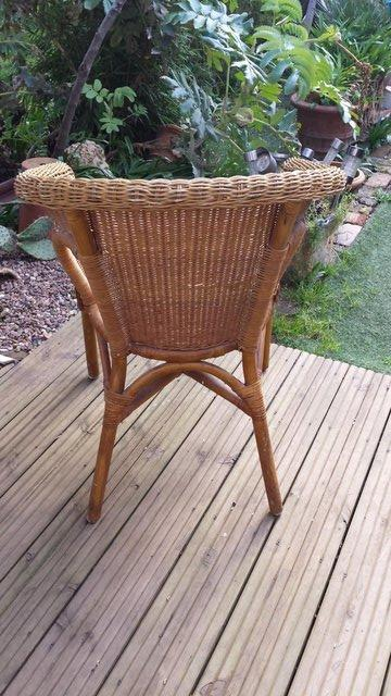 Image 3 of Vintage Style RATTAN CANE, conservatory, lounge or patio cha