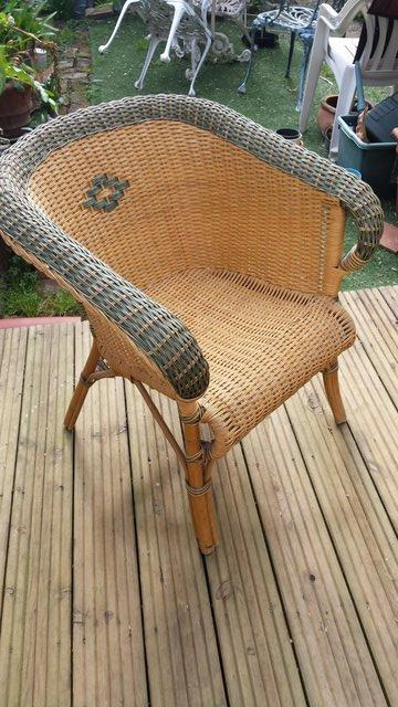 Image 4 of Vintage Style RATTAN CANE, conservatory, lounge or patio cha