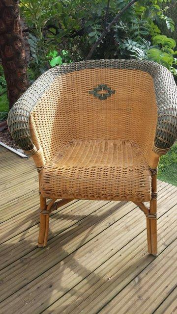 Image 5 of Vintage Style RATTAN CANE, conservatory, lounge or patio cha