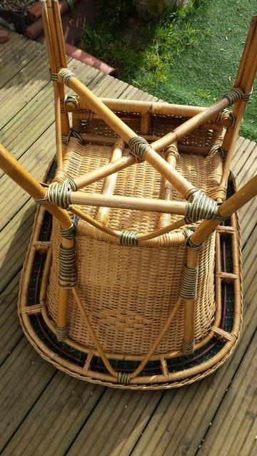 Image 6 of Vintage Style RATTAN CANE, conservatory, lounge or patio cha