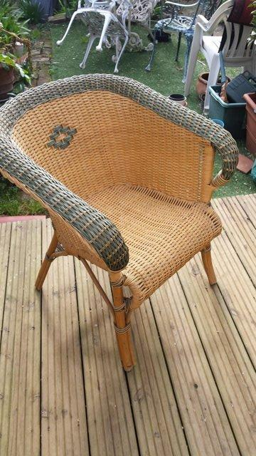 Image 7 of Vintage Style RATTAN CANE, conservatory, lounge or patio cha