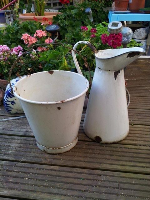 Preview of the first image of Original Jug & Bucket 'Old Dairy' Set.