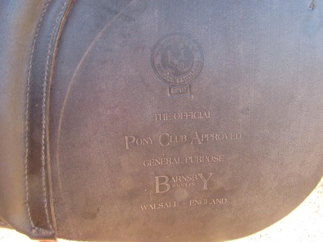 Image 4 of Stunning Barnsby 16 W Pony Club approved GP Saddle exc cond
