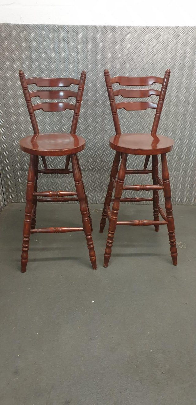 Image 4 of Farmhouse style breakfast bar stools