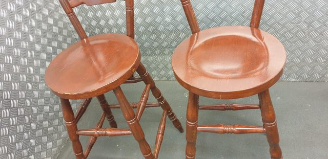 Image 5 of Farmhouse style breakfast bar stools