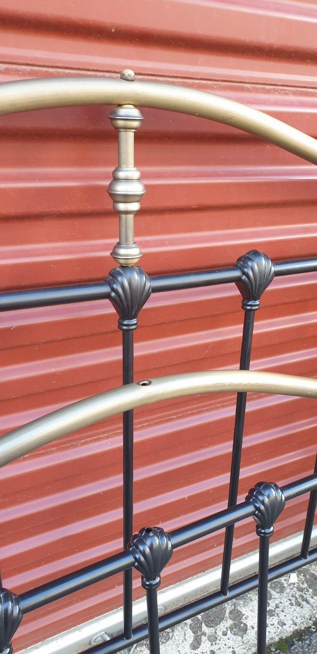 Image 3 of Double bed metal frame