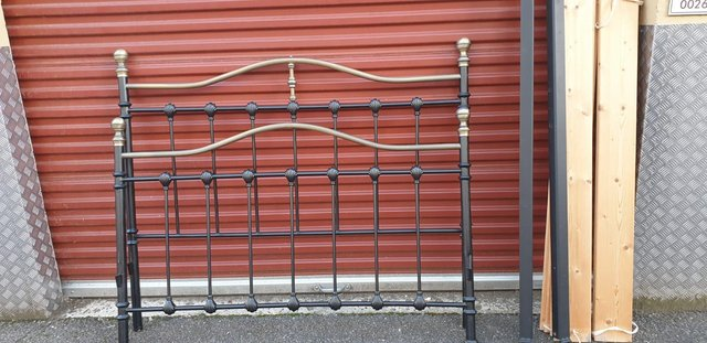Image 4 of Double bed metal frame