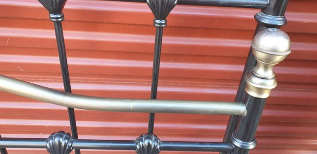Image 5 of Double bed metal frame