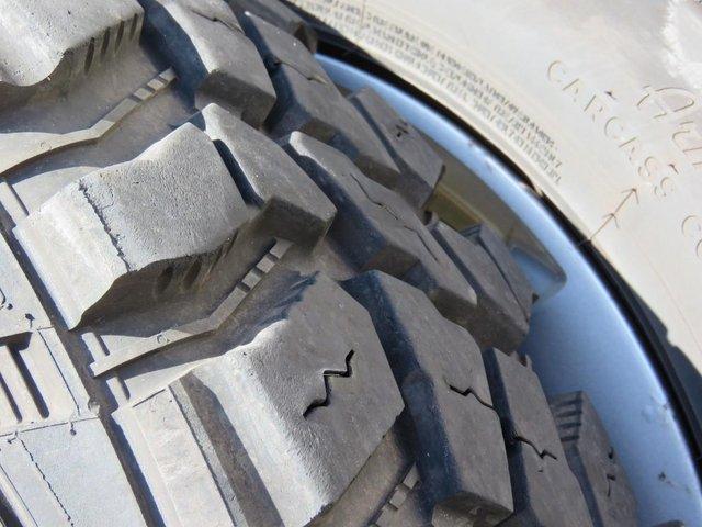 Image 2 of Grand Vitara 2 off road tyres & rims