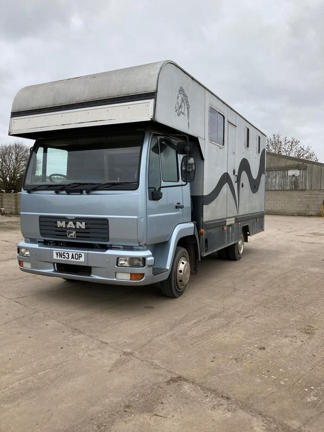 Preview of the first image of 7.5Ton MAN 53plate Horsebox.