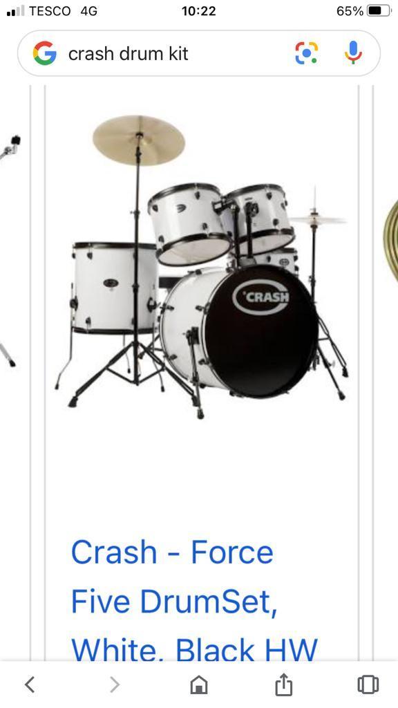 Image 2 of Junior Drum Kit