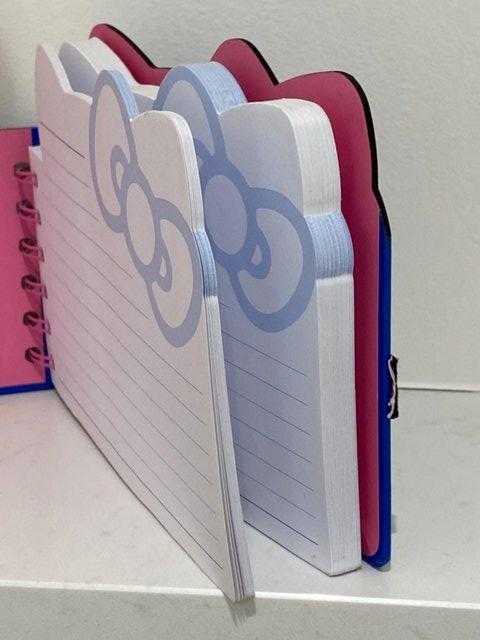 Image 10 of HELLO KITTY PAPERCHASE NOTEBK BN+ KITTEN INMITTEN SUCTIONCUP