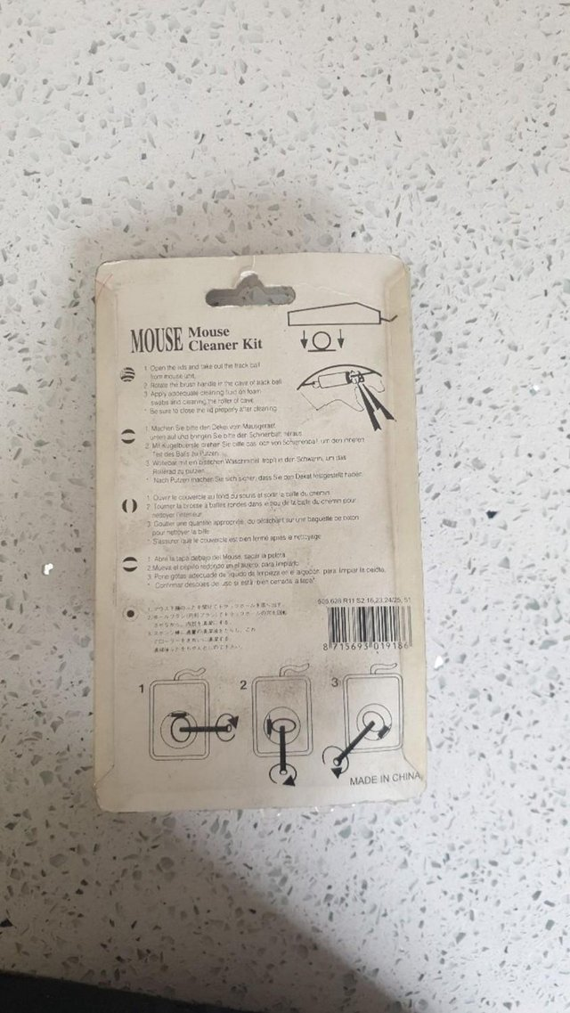 Image 3 of Mouse Cleaner Kit