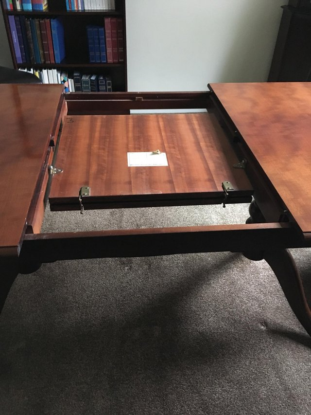 Image 2 of Stag Minstrel Twin Pedestal Dining Table