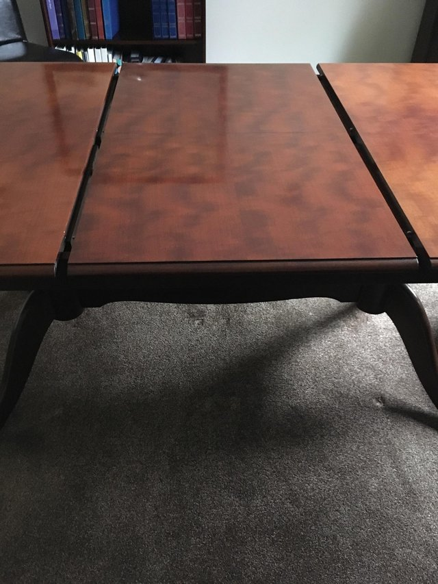 Image 3 of Stag Minstrel Twin Pedestal Dining Table