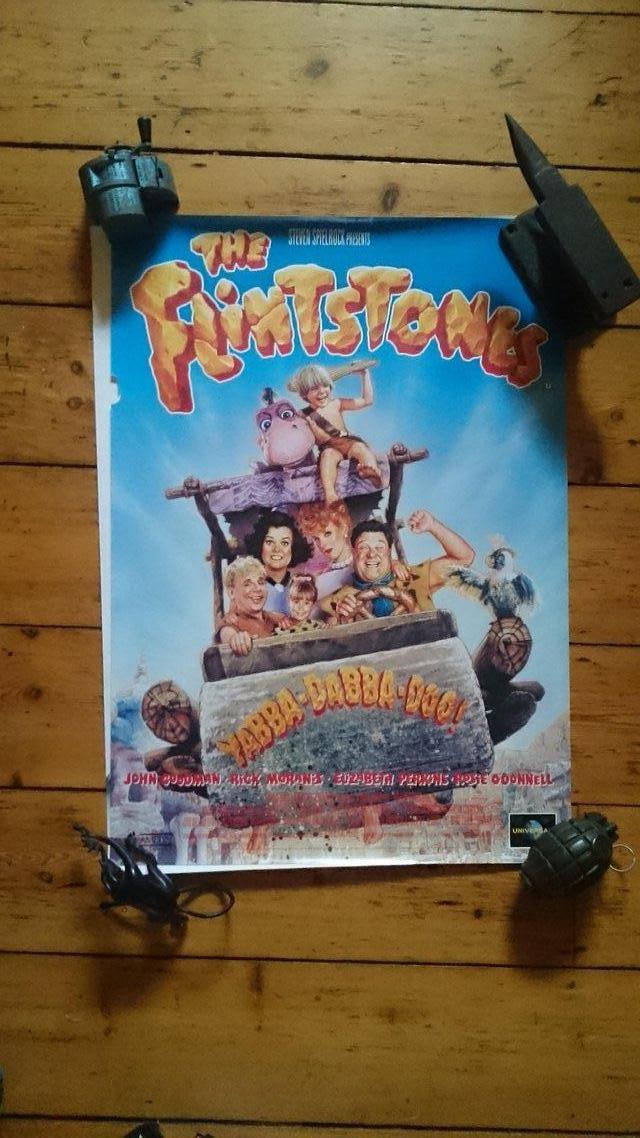 Preview of the first image of Joblot of childrens film poster.