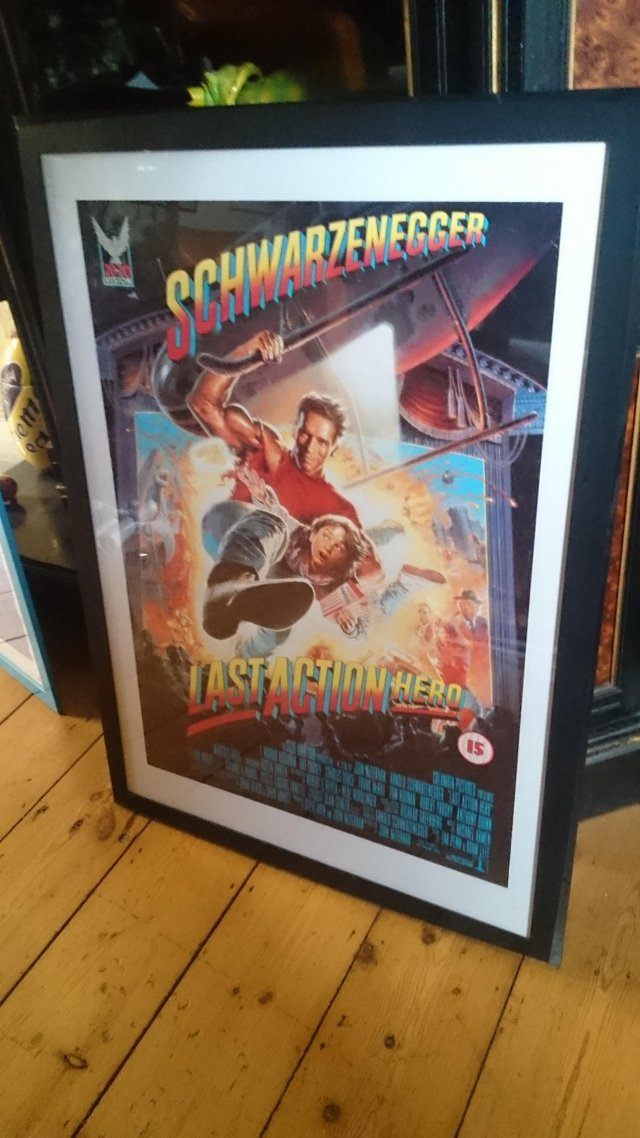Image 4 of Original framed Arnold Schwarzenegger film poster