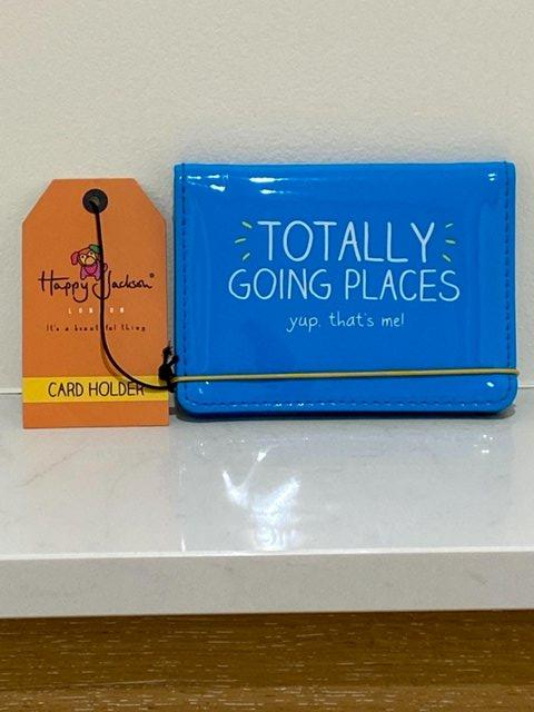 Image 3 of HAPPY JACKSON LONDON TRAVEL CARD HOLDER WITH TAG. BRAND-NEW.