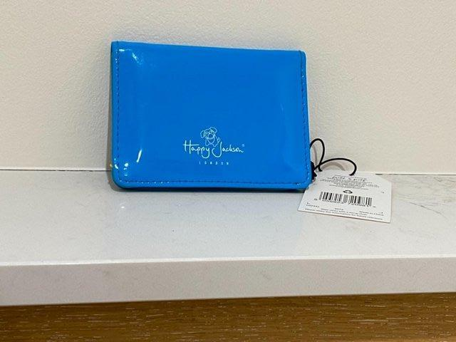 Image 5 of HAPPY JACKSON LONDON TRAVEL CARD HOLDER WITH TAG. BRAND-NEW.